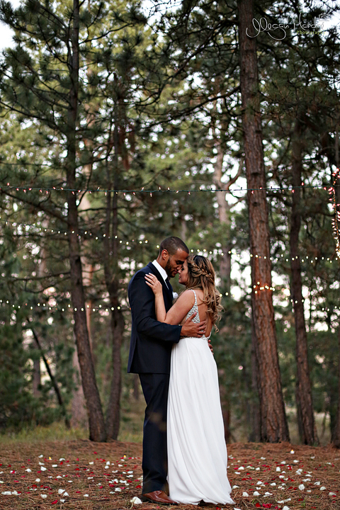 Irene And Calvin Wedding Black Forest Colorado